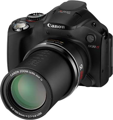 Canon PowerShot SX30 IS Preview