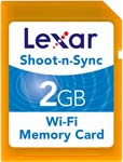 Lexar Shoot-n-Sync Wi-Fi Card