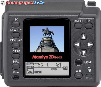 Mamiya ZDb Digital Back
