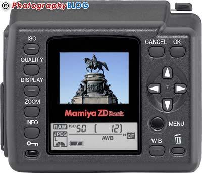 Mamiya ZDb Digital Back