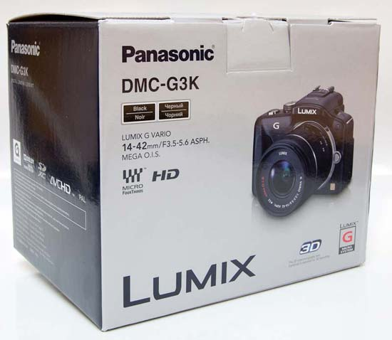 Panasonic G3 Unboxing