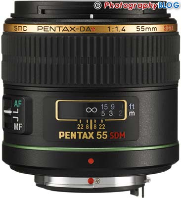 Pentax smc DA* 55mm