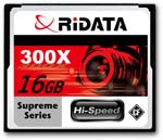 Ridata 16GB 300x CompactFlash