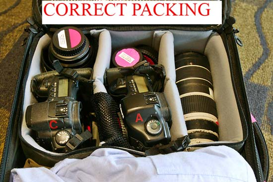 How to Travel with Cameras