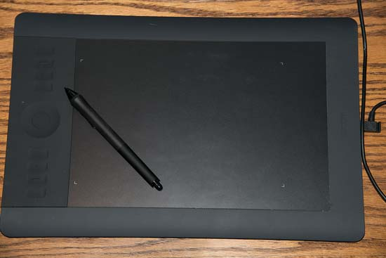 Cloning and Healing with the Wacom Tablet