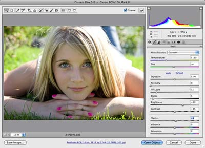 Adobe Photoshop CS4 - Main Interface