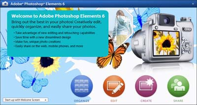 Adobe Photoshop Elements 6 - Figure 1
