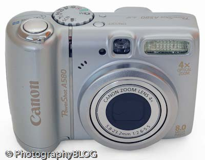 Canon Powershot A580