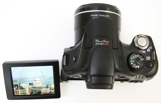 Canon PowerShotSX40 HS