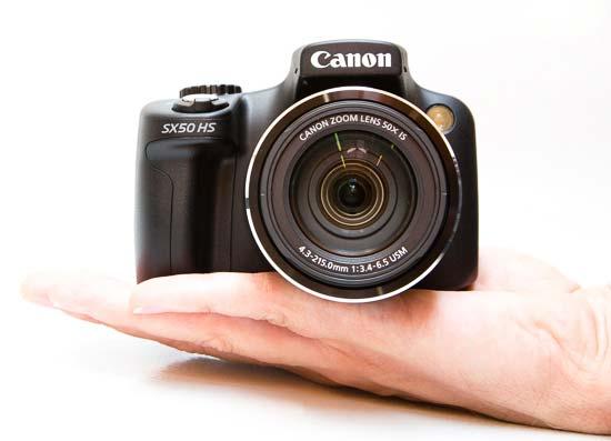 Canon PowerShotSX50 HS