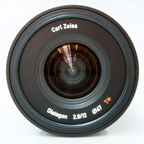 Carl Zeiss Touit Distagon 2.8/12mm T*