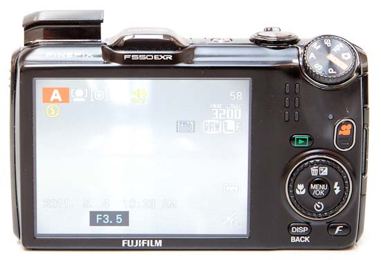 Fujifilm FinePix F550 EXR