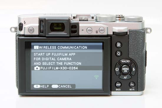 Fujifilm X30