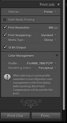 Lightroom 2 - Main Interface
