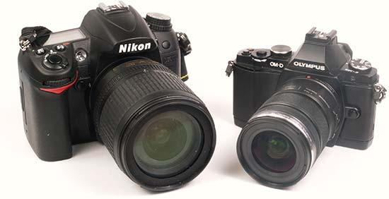 Head to Head Review: Olympus OM-D E-M5 v Nikon D7000
