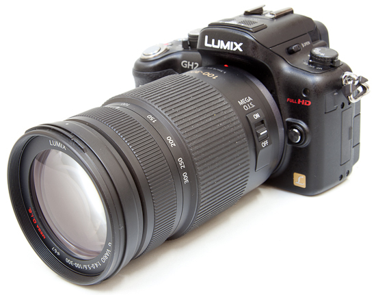Panasonic LUMIX G VARIO 100-300mm / F4.0-5.6 / MEGA O.I.S. 