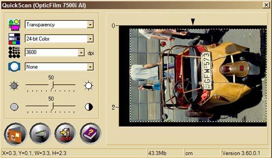Plustek OpticFilm 7500i AI