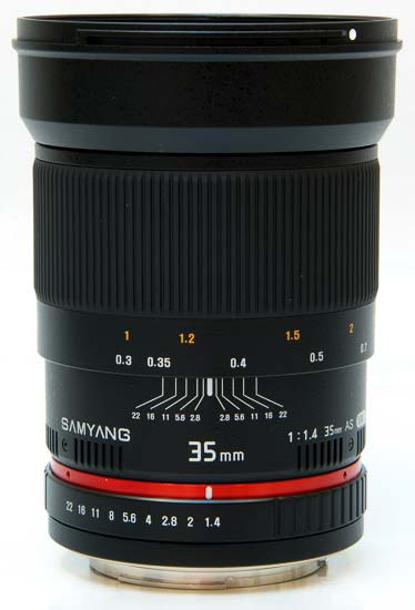 Samyang 35mm f/1.4 ED AS UMC