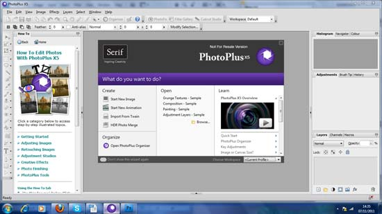 Serif PhotoPlus X5