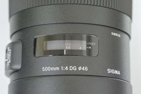 Sigma 500mm f/4 DG OS HSM Sports