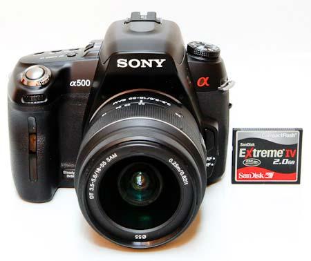 Sony A500