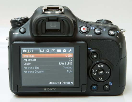Sony A58