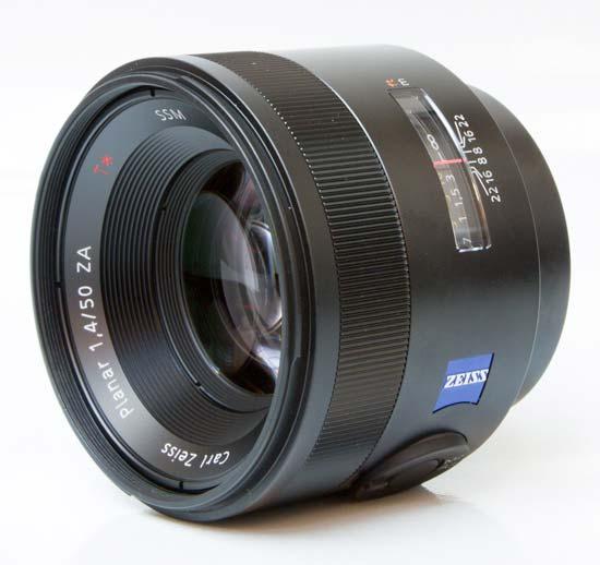 Sony Carl Zeiss Planar T* 50mm F1.4 ZA SSM