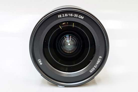 Sony FE 16-35mm F2.8 GM