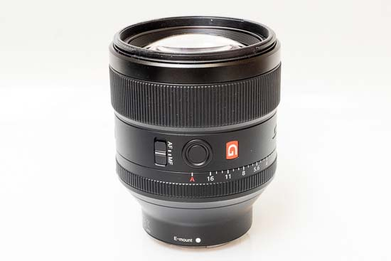 Sony FE 85mm f/1.4 GM