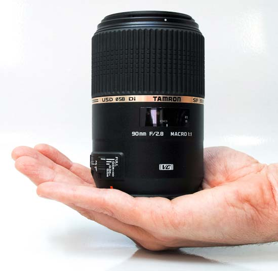 Tamron SP 90mm F/2.8 Di MACRO 1:1 VC USD