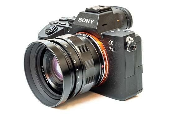 Voigtlander Nokton Classic 35mm F1.4 FE