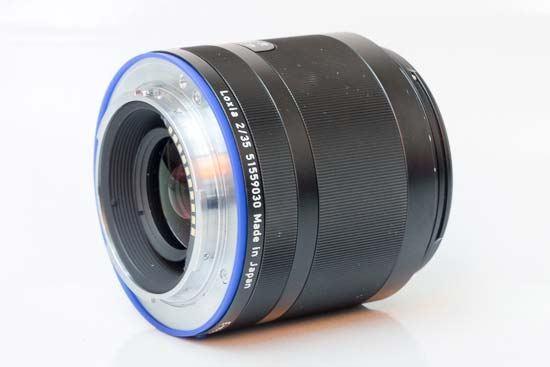 Carl Zeiss Sonnar T* FE 55mm F1.8 ZA