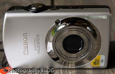 Canon Digital IXUS 870 IS