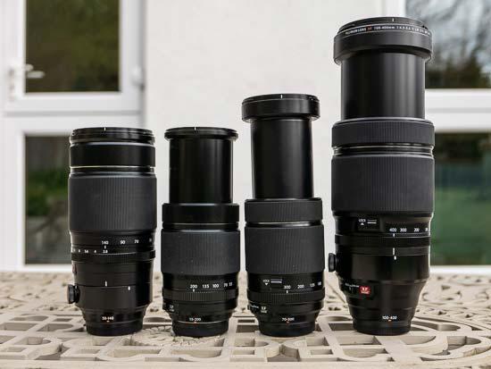 Fujifilm Telephoto Zoom Lenses