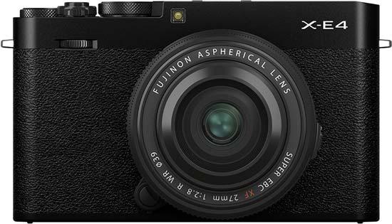 Fujifilm X-E4 vs X-S10 - Head to Head Comparison