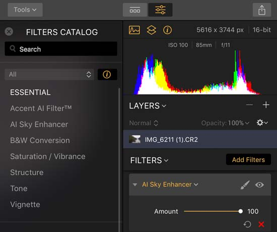 How to Quickly and Easily Enhance Your Skies with the New AI Sky Enhancer Filter in Luminar