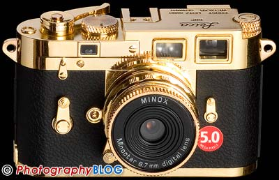 Minox DCC Leica M3 Gold Edition