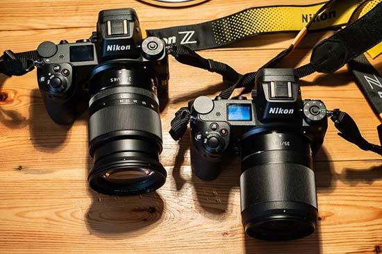 Nikon Z7 and Nikon Z6