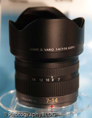 Panasonic 7-14mm Lens