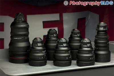 RED Prime Lenses
