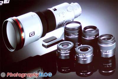 6 New Sony DSLR Lenses