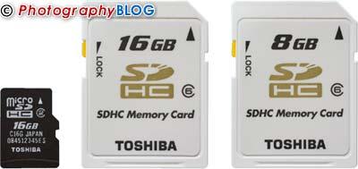 Toshiba 16GB microSDHC