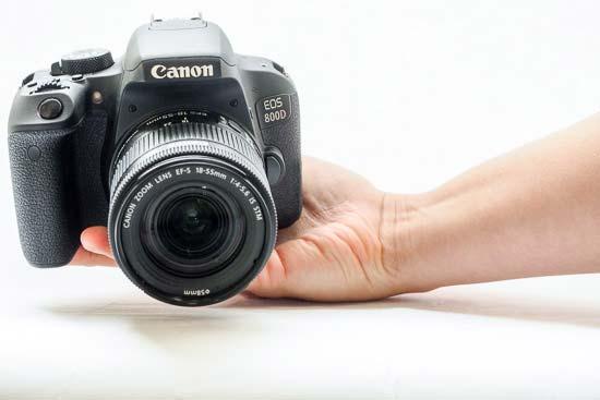 Canon EOS 800D Review | Photography Blog