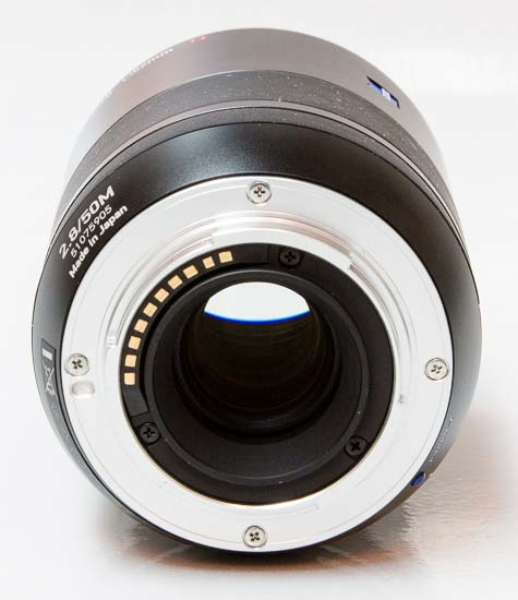 Carl Zeiss Touit Makro Planar 2.8/50mm T*
