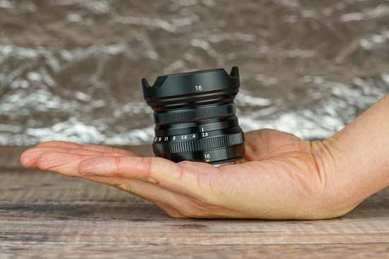 Fujifilm XF 16mm F2.8