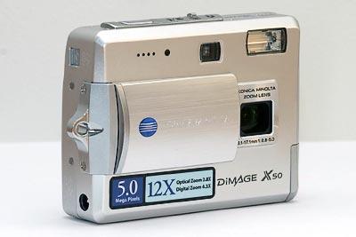 Konica Minolta DiMAGE X50