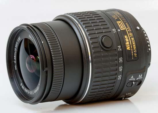 AF-S DX Nikkor 18-55mm f/3.5-5.6G VR II