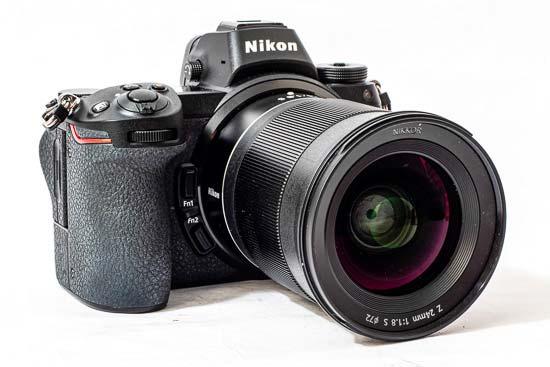 Nikon Z 24mm f/1.8 S