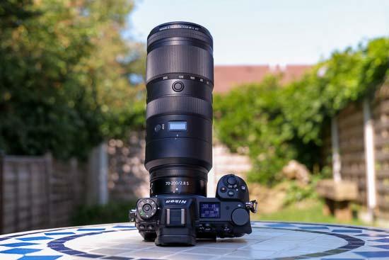Nikon Z 70-200mm f/2.8 VR S
