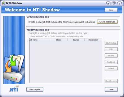 NTI Shadow 3 - Welcome